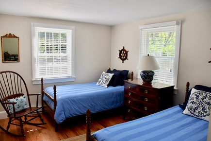 Oak Bluffs Martha's Vineyard vacation rental - Bedroom #2 with Twin Beds
