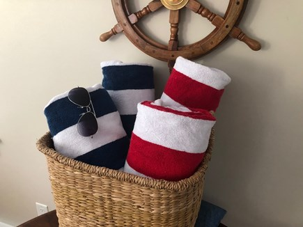 Oak Bluffs Martha's Vineyard vacation rental - Beach towels