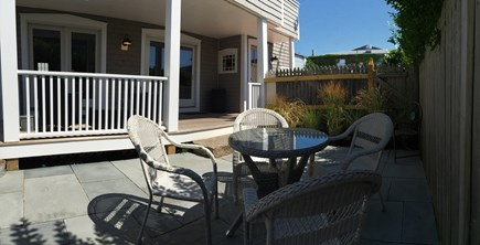 Oak Bluffs Martha's Vineyard vacation rental - First floor Private deck and seating area.