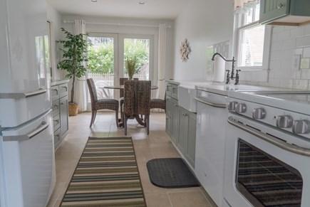 Oak Bluffs Martha's Vineyard vacation rental - First floor kitchen dining room view.