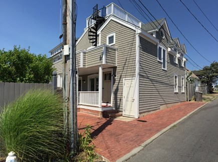 Oak Bluffs Martha's Vineyard vacation rental - 9 Pasque Ave, view from street and private driveway.