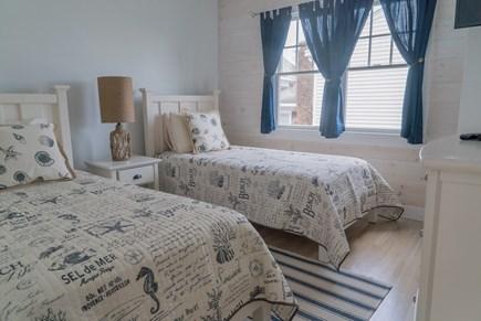 Oak Bluffs Martha's Vineyard vacation rental - Second floor bedroom with twin beds.