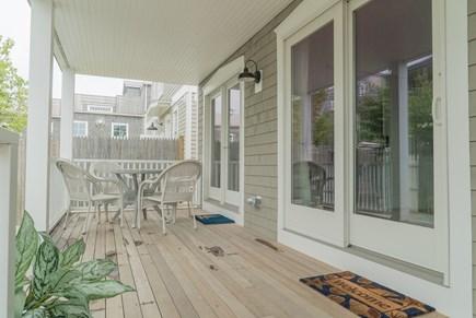 Oak Bluffs Martha's Vineyard vacation rental - First floor private deck.
