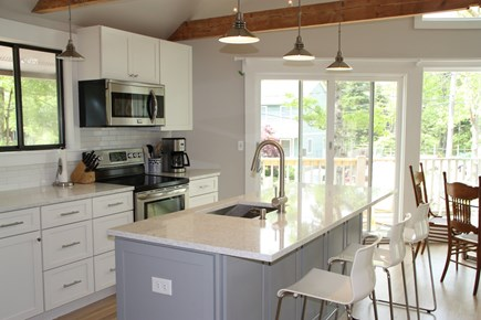 Vineyard Haven Martha's Vineyard vacation rental - Brand new, fully equipped kitchen