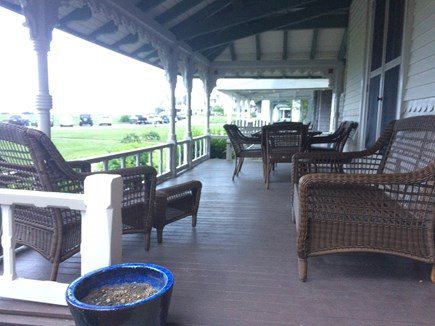 Oak Bluffs Martha's Vineyard vacation rental - Outdoor seating & dining for six +