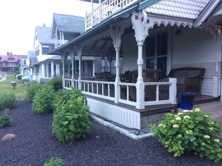 Oak Bluffs Martha's Vineyard vacation rental - Grand, wrap-around front porch fit for Presidents or your family!