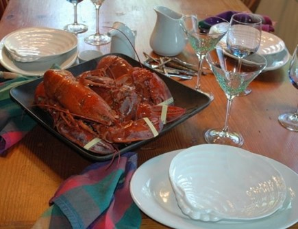 Edgartown Martha's Vineyard vacation rental - Enjoy a Vineyard meal in a well appointed kitchen.