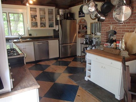 Edgartown Martha's Vineyard vacation rental - A classic and well appointed Vineyard kitchen.