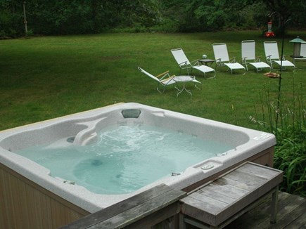 Edgartown Martha's Vineyard vacation rental - Inviting hot tub.