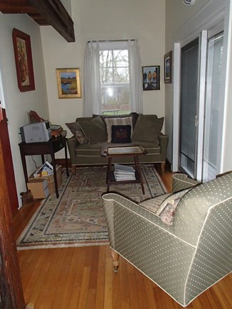 Edgartown Martha's Vineyard vacation rental - Sitting area off of the main area.