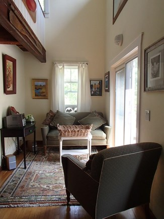 Edgartown Martha's Vineyard vacation rental - Reading and relaxing space off the main area.