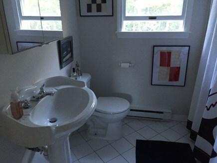 Edgartown Martha's Vineyard vacation rental - 2nd floor bathroom with shower