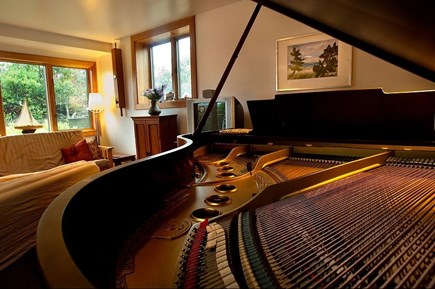Aquinnah Martha's Vineyard vacation rental - Piano in additional living area
