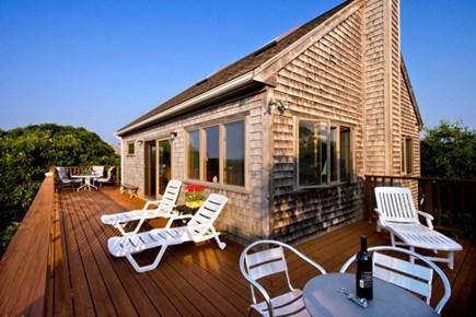 Aquinnah Martha's Vineyard vacation rental - View of house