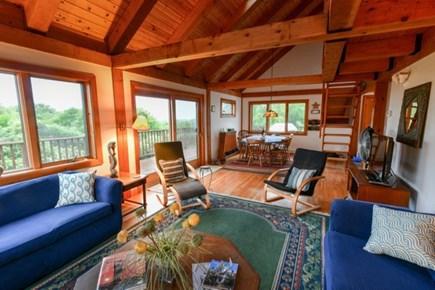 Aquinnah Martha's Vineyard vacation rental - Main living area