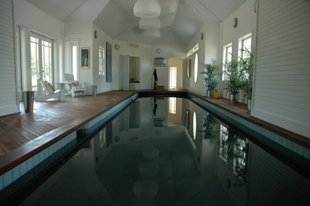 Edgartown, Chappaquiddick Martha's Vineyard vacation rental - Indoor Lap Pool, spring water, all natural, no chemicals