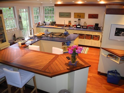 Edgartown, Chappaquiddick Martha's Vineyard vacation rental - Gourmet Kitchen, everything for the cook, exterior adjacent grill