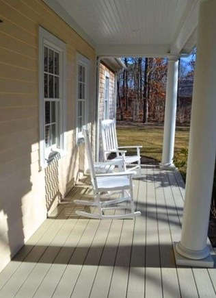 Oak Bluffs Martha's Vineyard vacation rental - Farmers porch