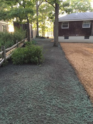 Oak Bluffs Martha's Vineyard vacation rental - Driveway with entry to house is on the left side