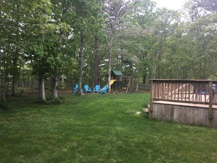 Oak Bluffs Martha's Vineyard vacation rental - Back yard play area, fully enclosed