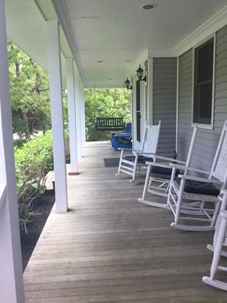 Oak Bluffs Martha's Vineyard vacation rental - Farmers porch with porch swing