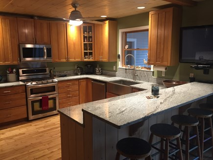 Oak Bluffs Martha's Vineyard vacation rental - Granite counter tops, stainless steel appliances. TV.