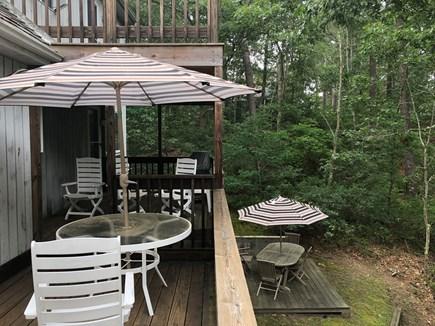Oak Bluffs Martha's Vineyard vacation rental - Three levels of decks