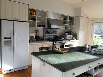 West Tisbury Martha's Vineyard vacation rental - Island kitchen