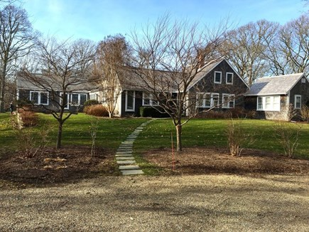 West Tisbury Martha's Vineyard vacation rental - House in early spring
