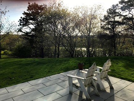 West Tisbury Martha's Vineyard vacation rental - Patio with water views