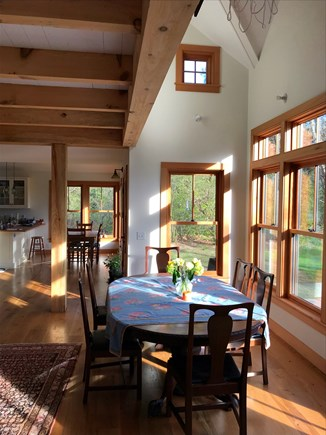 West Tisbury Martha's Vineyard vacation rental - Open Dining Area