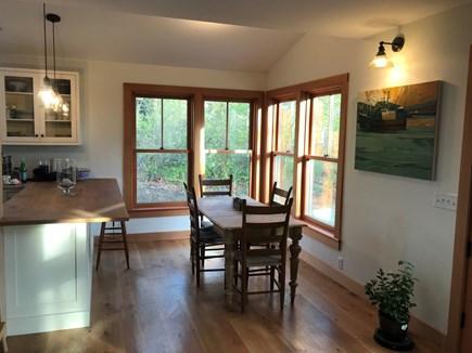 West Tisbury Martha's Vineyard vacation rental - Kitchen Nook