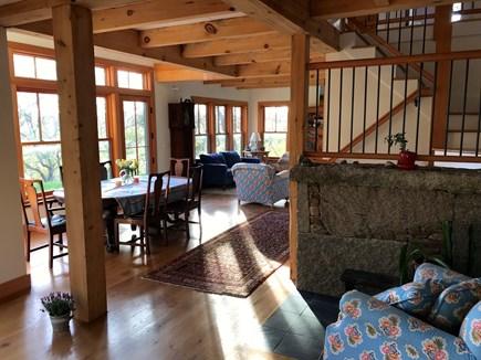 West Tisbury Martha's Vineyard vacation rental - Living room/Dining room