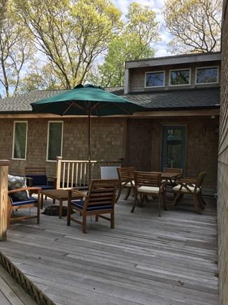 Vineyard Haven Martha's Vineyard vacation rental - Deck