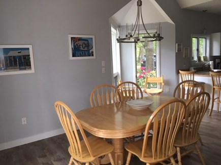 Vineyard Haven Martha's Vineyard vacation rental - Dining room and sitting area
