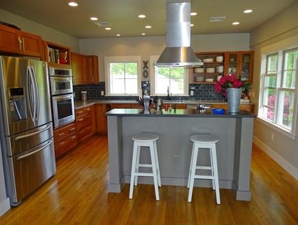 Vineyard Haven Martha's Vineyard vacation rental - Kitchen, adjoining upstairs living area.