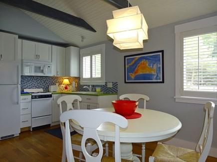 Vineyard Haven Martha's Vineyard vacation rental - Guest house dining/kitchen area.