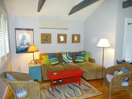 Vineyard Haven Martha's Vineyard vacation rental - Guest house living room.