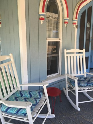 Vineyard Haven, Oak Bluffs Martha's Vineyard vacation rental - Great rocking chairs to relax