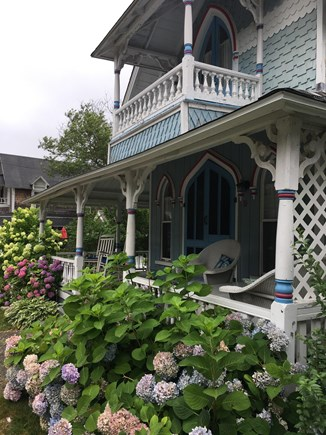 Vineyard Haven, Oak Bluffs Martha's Vineyard vacation rental - Master bedroom balcony with waterviews as well