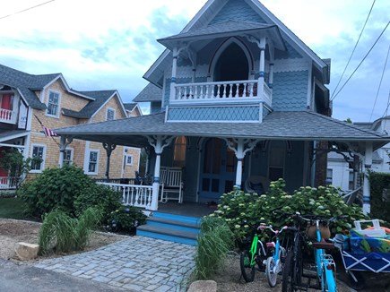 Vineyard Haven, Oak Bluffs Martha's Vineyard vacation rental - Big classic beach Victorian with wrap around porch and waterviews