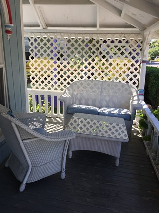 Vineyard Haven, Oak Bluffs Martha's Vineyard vacation rental - Shady ocean breezes watching the Inkwell Beach