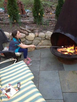 Vineyard Haven Martha's Vineyard vacation rental - Outside fire pit