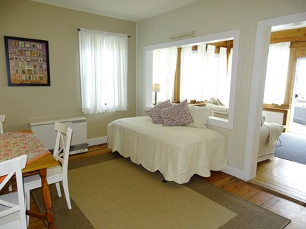 Oak Bluffs Martha's Vineyard vacation rental - Dining area leads to living room, water views
