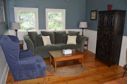 Oak Bluffs Martha's Vineyard vacation rental - Den adjacent to dining room