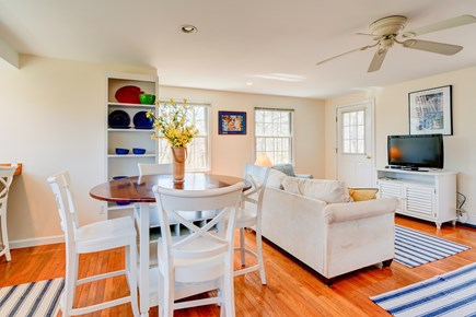 Edgartown Martha's Vineyard vacation rental - Watch TV from the dining table