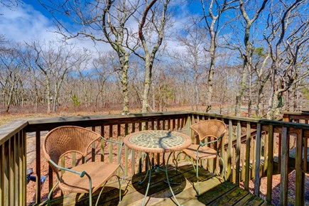 Edgartown Martha's Vineyard vacation rental - Relax out on the deck