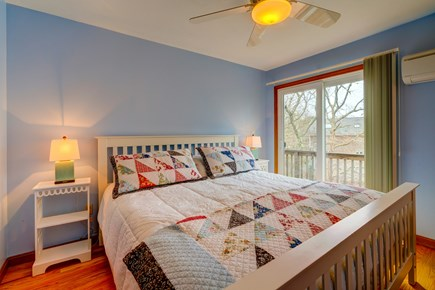 Edgartown Martha's Vineyard vacation rental - Colorfully quilted second bedroom