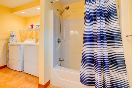 Edgartown Martha's Vineyard vacation rental - Laundry is accessible in the bathroom