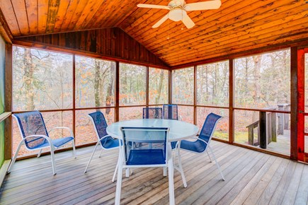 Edgartown Martha's Vineyard vacation rental - Relax in the covered deck